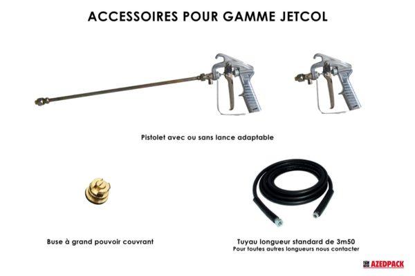 Accessoires pour la gamme JETCOL
