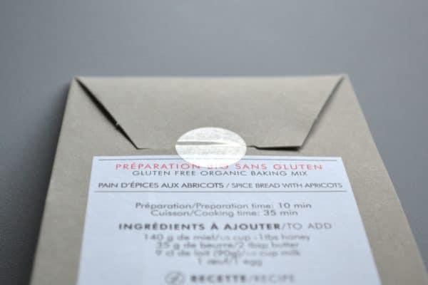 Disque de scellement sur sachet carton