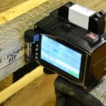 Marquage norme NIMP15 avec le TI300 Mobil