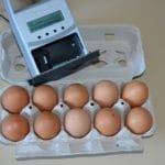 Système jet d'encre portatif pour le marquage des œufs