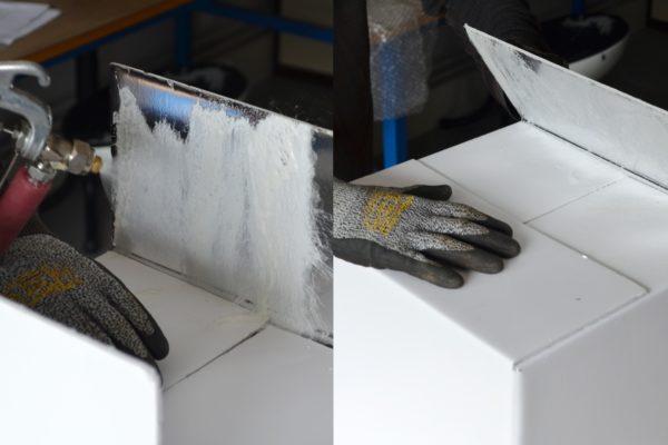 Montage ALU/PVC avec le JETCOL EPDM