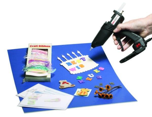Pistolet à colle TEC305 collage scrapbooking