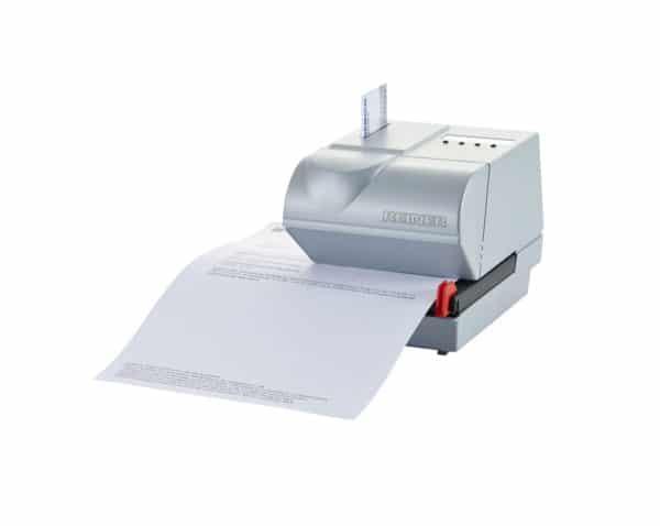 Marquage de document avec un dateur automatique REINER 925.
