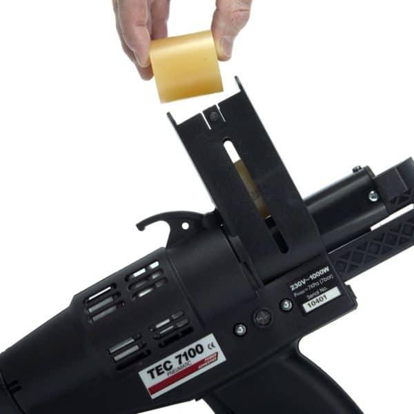 Recharge du pistolet à colle TEC7100