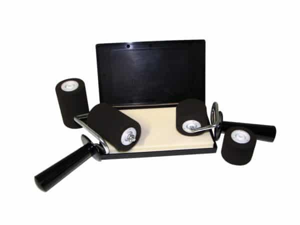 Rouleau à main RM20 - Mousse RM10 - Tampon RM50
